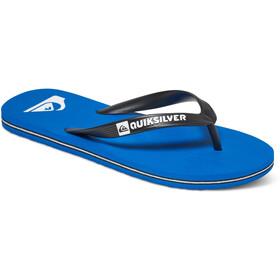Quiksilver Molokai Sandalias Hombre, azul/negro